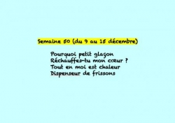 Semaine 50