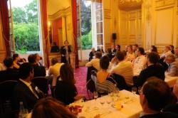 Grand dîner annuel du Hub Finance au Sénat avec Laurence DEBROUX