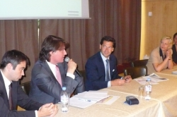 Antoine Morgaut, Veronique Ehrhard et speakers