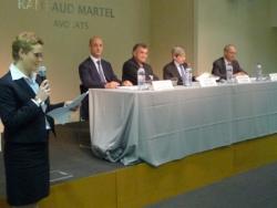 Sylvie Bretones et speakers