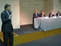 Daniel Bacqueroet et speakers