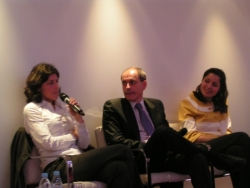 Mathilde Bluteau et speakers