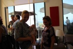 Sophie, Cécile et son nouveau bébé si sage !