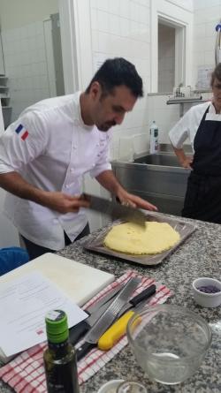 la polenta pour faire des canapés