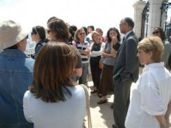 JARDINS BAHAIS ET RECEPTION AU CONSULAT DE FRANCE-HAIFA, 6 MAI 2008