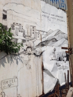 STREET ART AVEC BISSONIM