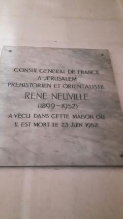 Le premier Consul Général à Jérusalem