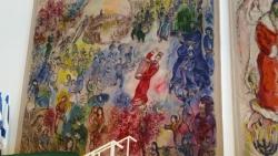 Tapisserie Marc Chagall : le présent