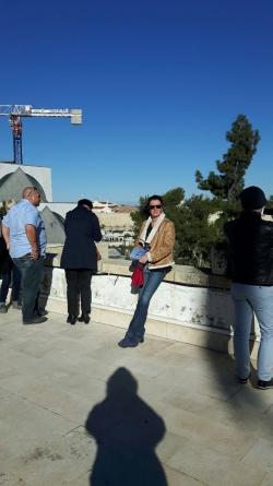 Sur la terrasse du Consulat