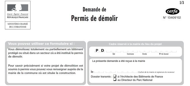 Sur L Affichage D Un Permis De Construire Delivre En Application De