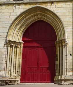 Grand porte