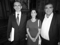 Avec l'Ambassadeur du Mexique à Paris