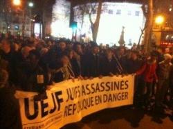 Manifestation aprés tuerie de Toulouse
