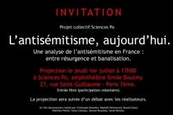 Documentaire sur l'antismitisme aujourd'hui