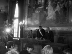 Officier d'état civil à la Mairie de Paris 19