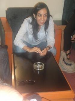Rencontre avec la députée marocaine Mbarka Bouaida