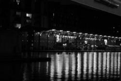 Le MK2 Quai de Seine de nuit