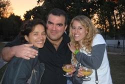 Avec Loubna Meliane