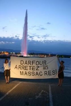 Mobilisation Suisse contre le Genocide au Darfour