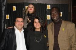 Diner des parrains de SOS Racisme 2012