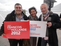 Meeting de François Hollande