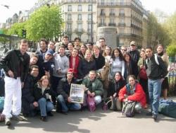 Arrivée à Paris