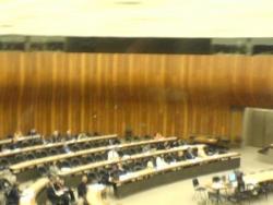 Le siège de l'ONU, à Geneve