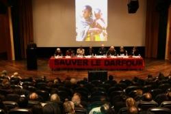 Salle comble pour le Darfour