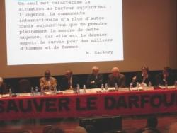 Soutien présidentiel à Sauver Le Darfour