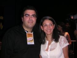 Avec Nicole Guedj engagés pour le Darfour