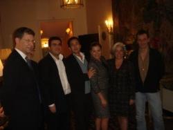 Avec Eric Chevalier, Mr Hoffman, et Loretta Sanche