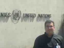 Aux Nations Unies