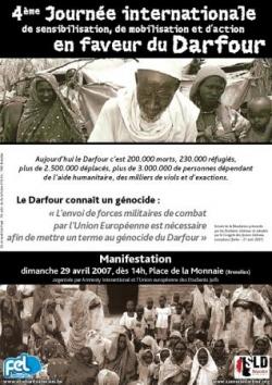 Journée Internationale pour le Darfour