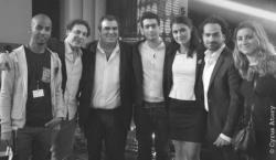 Equipe de SOS Racisme et de l'UEJF