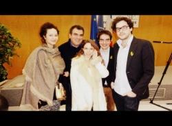 Les cadres de SOS Racisme heureux de la liberation