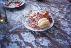 Ceviche en San Bartolo
