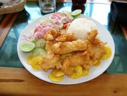 Almuerzo en Montañita 2