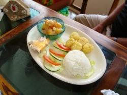 Almuerzo en Montañita 4