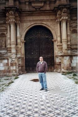 Puerta de entrada de la Iglesia de Ayaviri