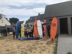 Séjour surf à la Torche - Du 30 juillet au 1er août 2019