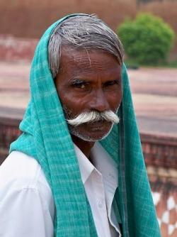 Sourire d'Indien