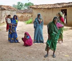 Villageoises au Rajasthan