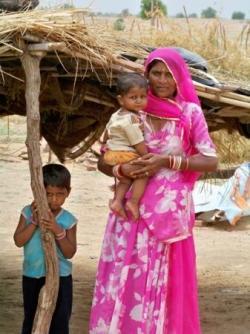 Famille du Rajasthan