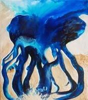 Meduse (81x100cm)