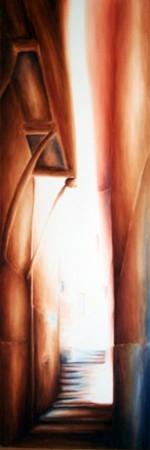 Dédale (150 x 50 cm)