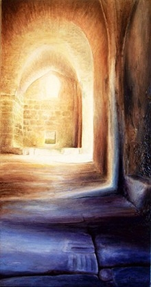 Les ombres d'alep (100 x 50 cm)