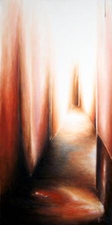 infinies silhouettes dans un puit de lumière (100