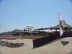 bar-restaurant sur plage