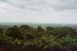 Kourou au loin