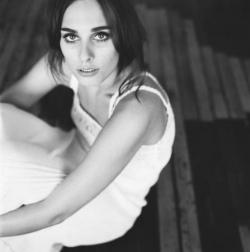 Sophie, portrait noir et blanc